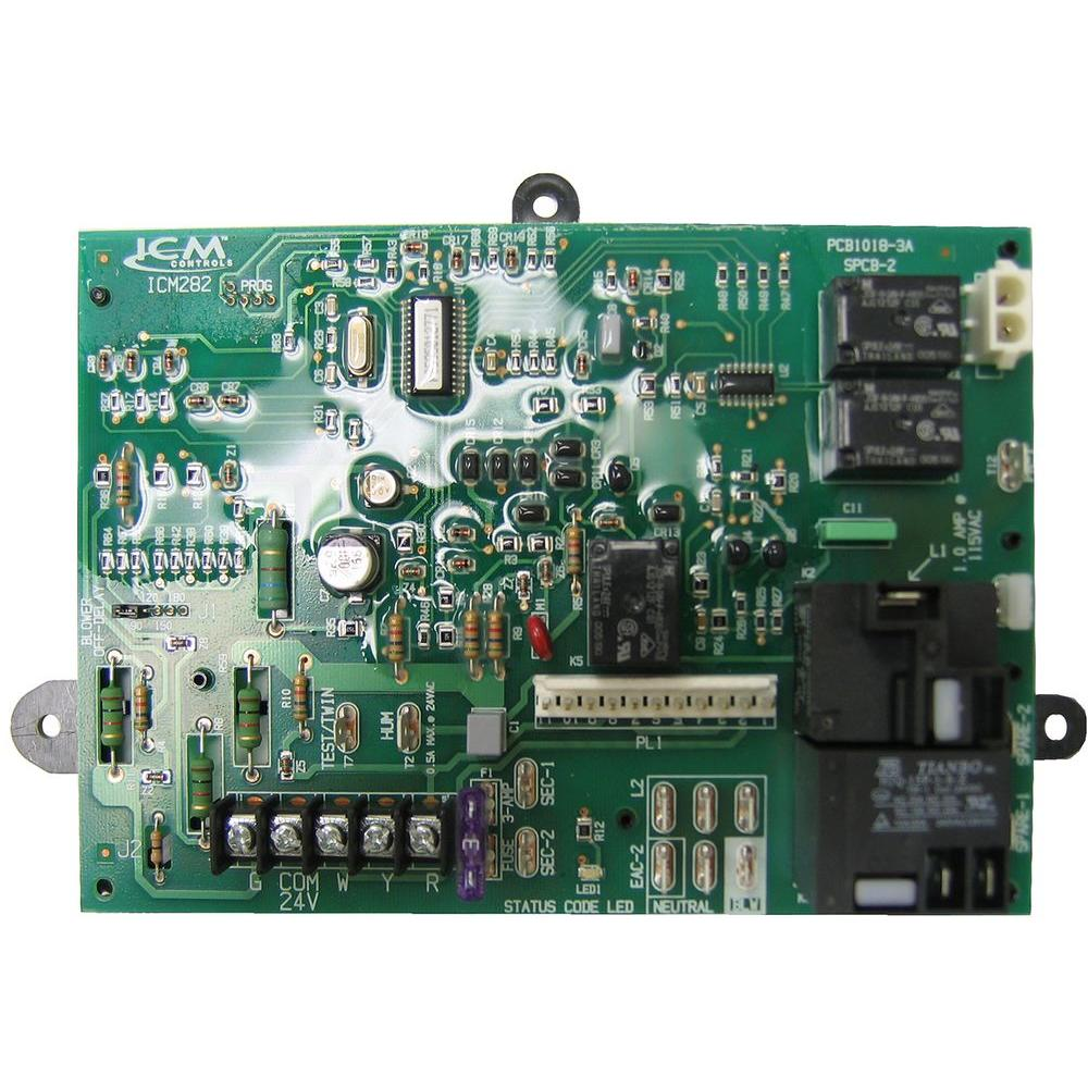 medium resolution of carrier furnace control board icm282 the home depot