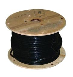 250 ft 1 0 600 volt black stranded cu welding cable [ 1000 x 1000 Pixel ]