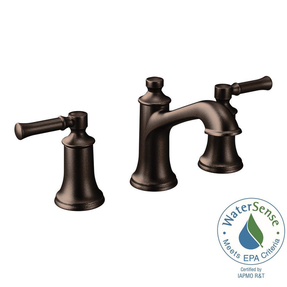 MOEN Dartmoor 8 in Widespread 2Handle Bathroom Faucet in