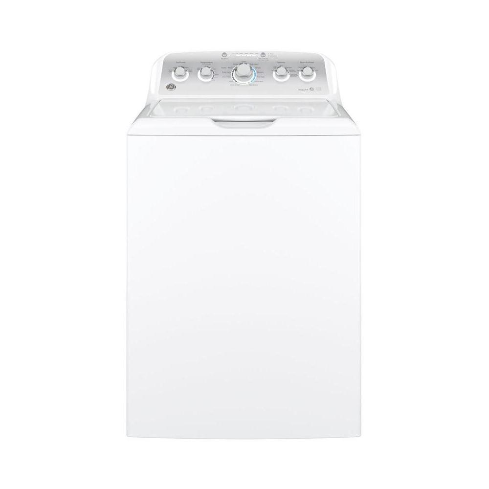 medium resolution of ge 4 2 cu ft high efficiency white top load washing machine energy