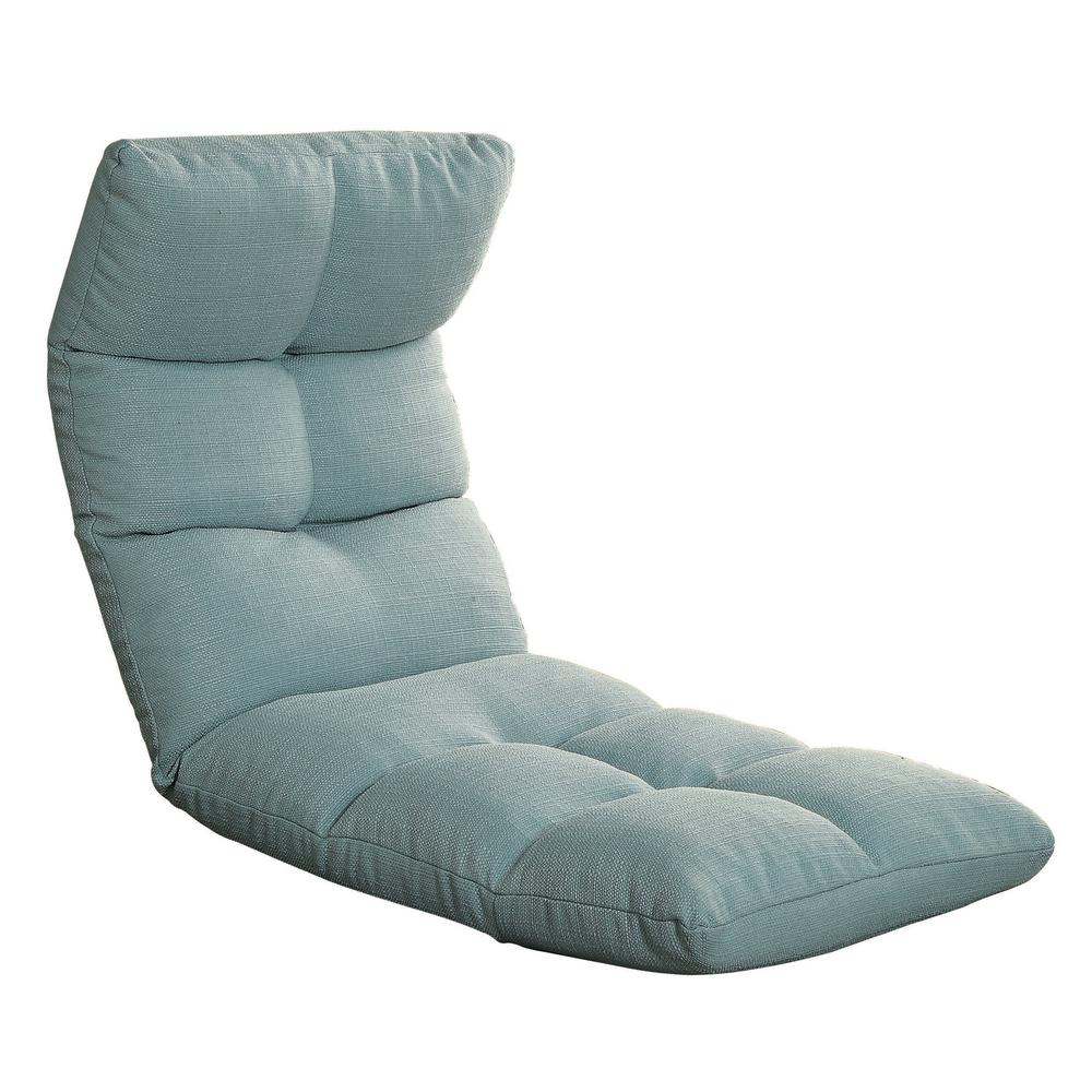 gaming floor chair pictures of chaise lounge chairs acme furniture teal morris 59605 the home depot