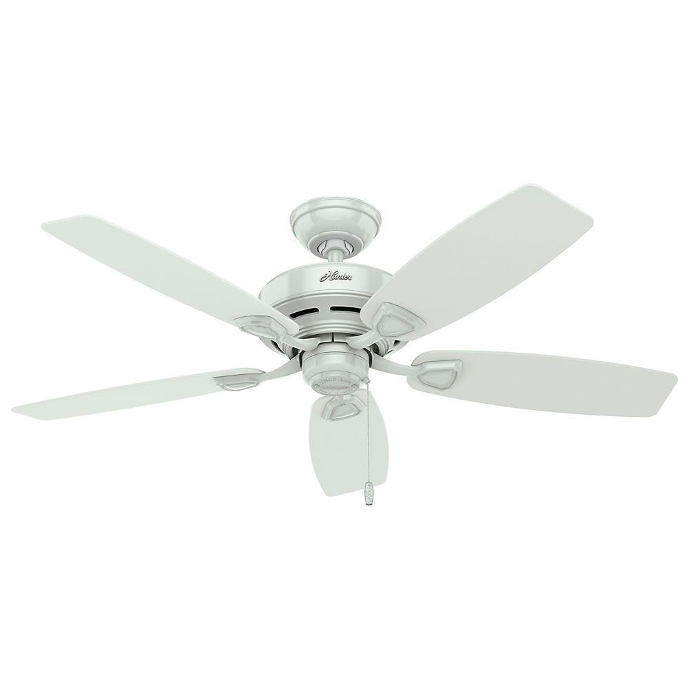 Hunter Sea Wind 48 in. Indoor/Outdoor White Ceiling Fan