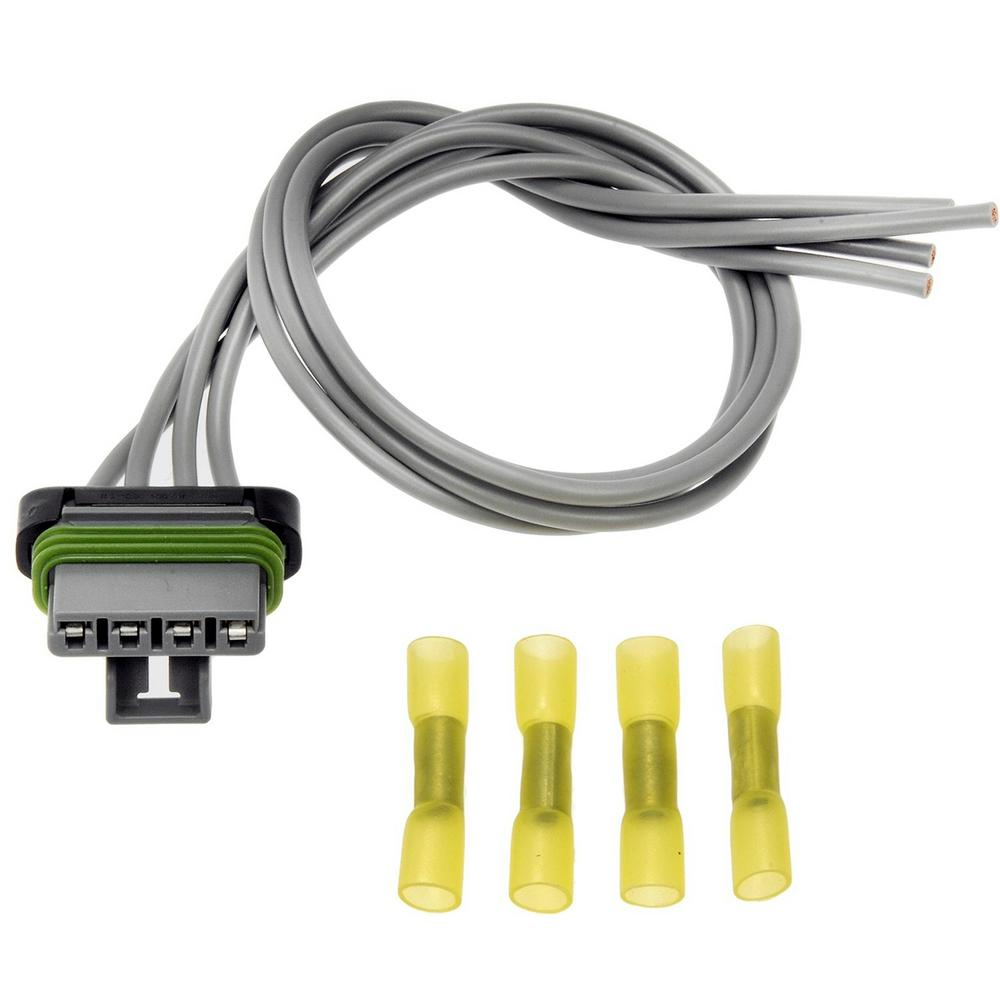 medium resolution of blower motor resistor harness