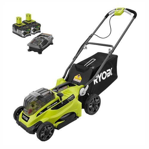 small resolution of  lawn mower ryobi 16 in one 18 volt lithium ion cordless battery walk behind on ryobi cordless mower wiring diagram wiring