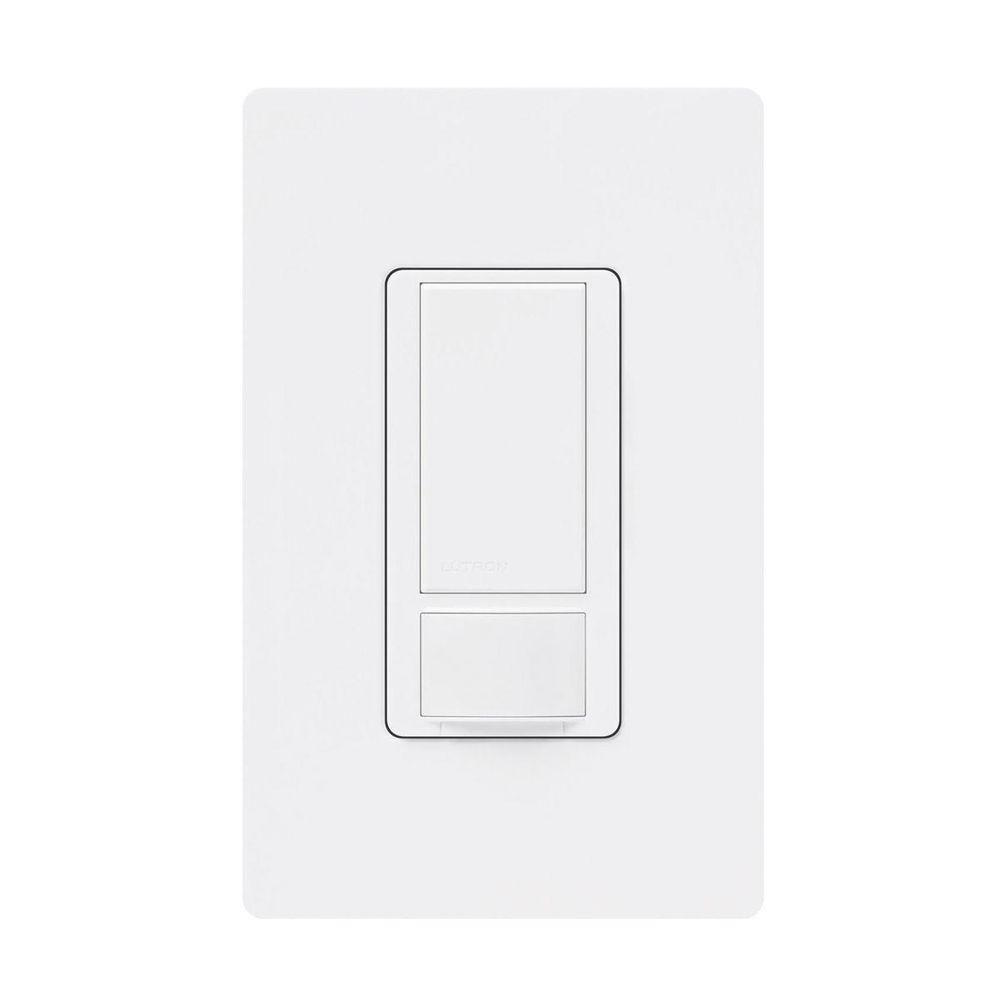 medium resolution of white lutron motion sensors ms ops6m2 dvr wh 64 1000 lutron maestro dual voltage motion sensor switch