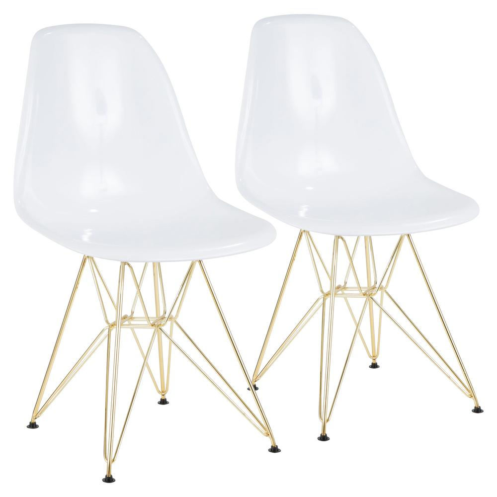 white and gold chair high wooden lumisource brady dining accent set of 2 ch brdabs wau2 the home depot