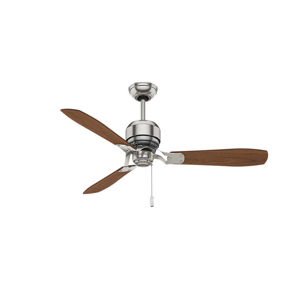 medium resolution of indoor brushed nickel ceiling fan