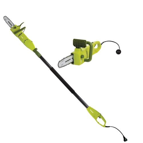small resolution of sun joe 2 in 1 8 in 8 amp electric convertible pole chain saw rh homedepot
