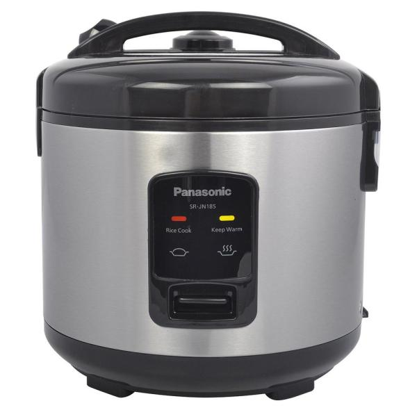 Panasonic 10-cup Uncooked Automatic Rice Cooker-srjn185 - Home Depot