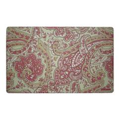 Memory Foam Kitchen Mats Garbage Can Cabinet Laura Ashley Vanessa Rust 20 In X 32 Mat