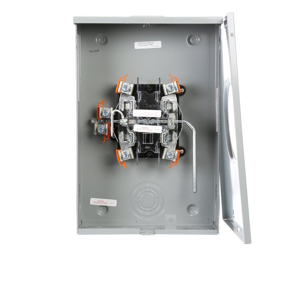 medium resolution of murray 200 amp lever bypass overhead underground meter socket