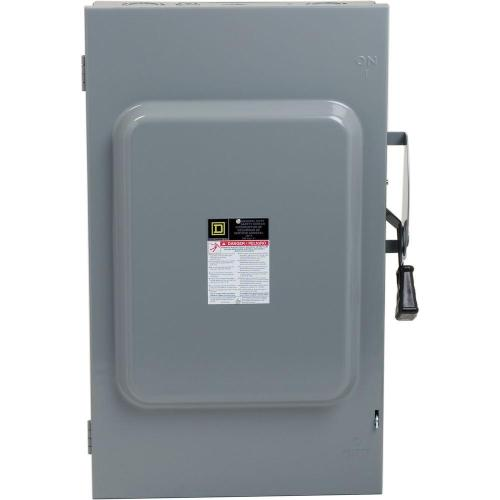 small resolution of square d 200 amp 240 volt 3 pole 3 phase fused indoor general duty 250 amp fuse disconnect box