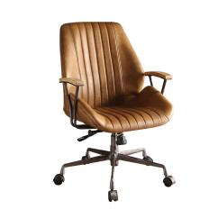 Leather Desk Chairs Hanging Chair Home Bargains Acme Furniture Hamilton Coffee Top Grain Office