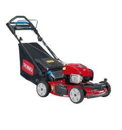 all wheel drive personal pace variable speed gas self propelled mower with briggs stratton engine [ 1000 x 1000 Pixel ]
