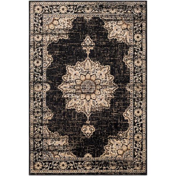 Artistic Weavers Sora Black 8 Ft. 10 In. X 12 9 Oriental Area Rug-s00161009392