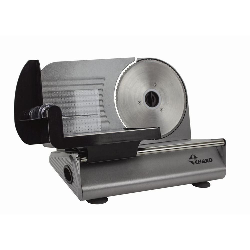 Chard Electric Food Slicer FSOP150 The Home Depot