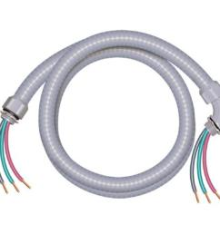 this review is from 3 4 in x 6 ft 8 2 ultra whip liquidtight flexible non metallic pvc conduit cable whip [ 1000 x 1000 Pixel ]