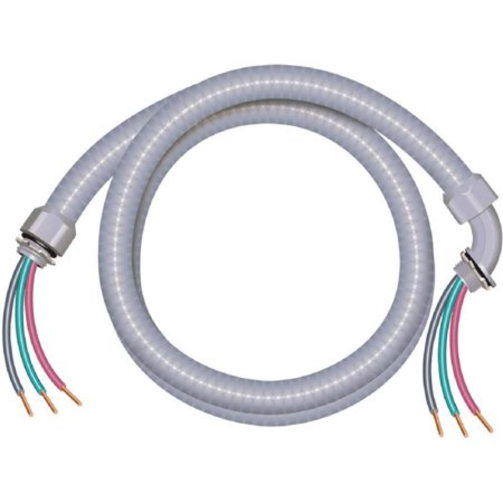 hight resolution of this review is from 3 4 in x 6 ft 8 2 ultra whip liquidtight flexible non metallic pvc conduit cable whip