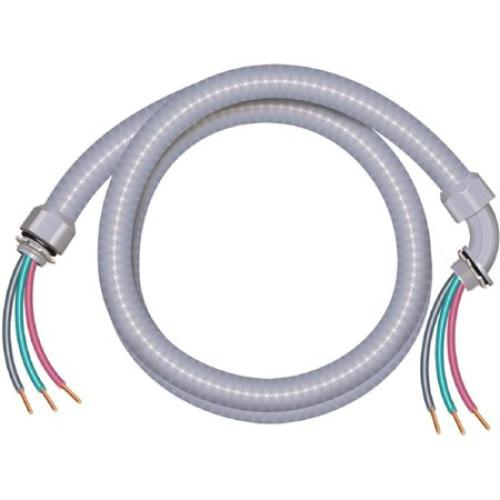 small resolution of this review is from 3 4 in x 6 ft 8 2 ultra whip liquidtight flexible non metallic pvc conduit cable whip