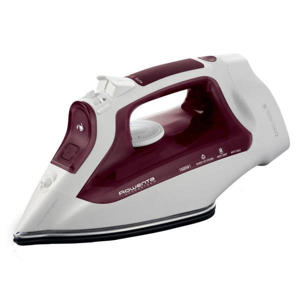 Rowenta Access Steam Iron With Cord Reel-dw1170 - Home Depot