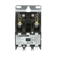 30 amp 24 volt ac 2 pole open definite purpose contactor 20 pack [ 1000 x 1000 Pixel ]
