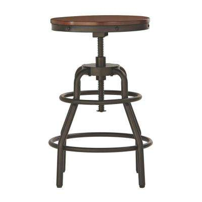 revolving chair for kitchen spandex covers rental houston bar stools dining room furniture the home depot adjustable height