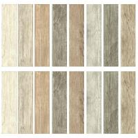 DIY Solution 16Pc Peel Stick Wall Decals Multi-Color Wood ...