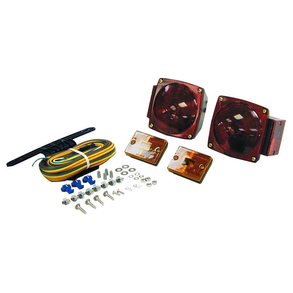 8 pin trailer wiring diagram tekonsha voyager brake controller towing lights equipment the home depot lamp kit