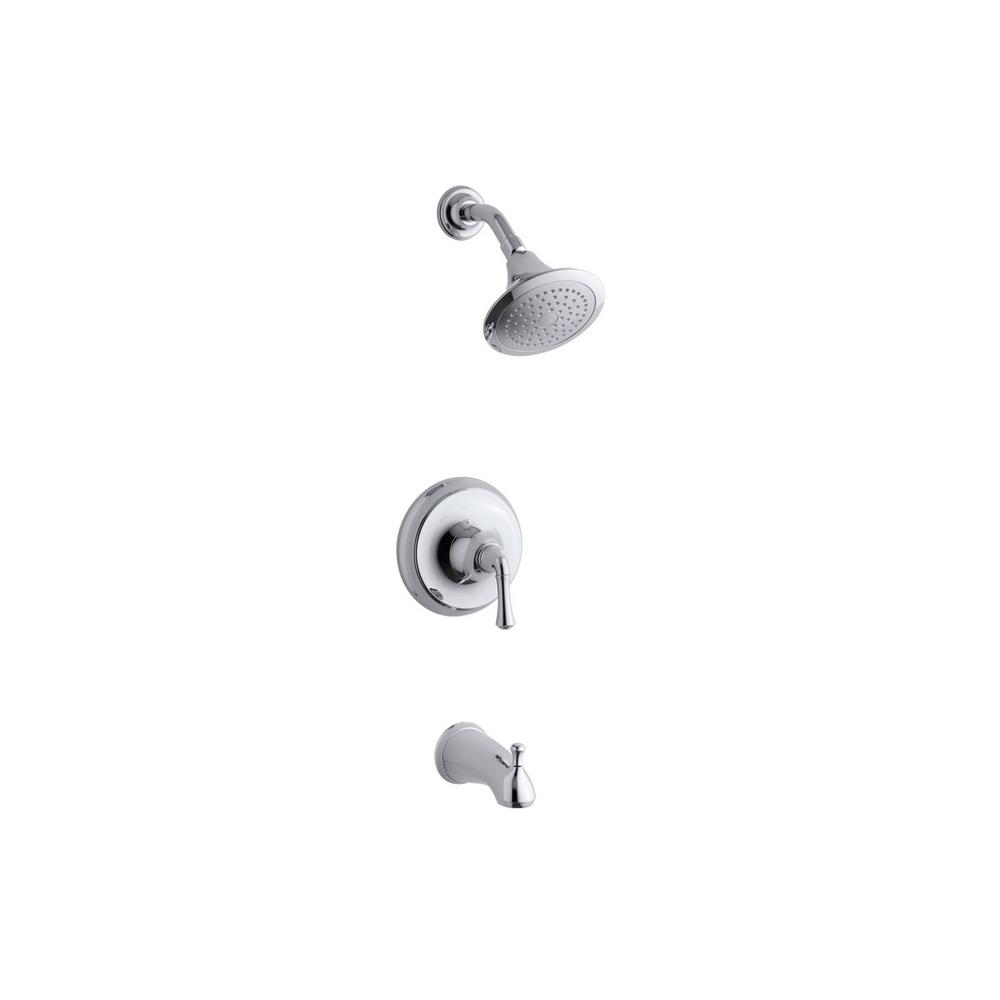 MOEN Banbury Single Handle 1 Spray Tub And Shower Faucet
