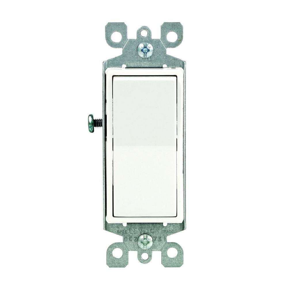hight resolution of white leviton switches r72 05611 2ws 64 1000 leviton decora 15 amp illuminated switch white r72