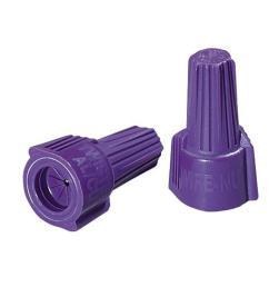 ideal twister al cu wire connectors purple 10 pack  [ 1000 x 1000 Pixel ]
