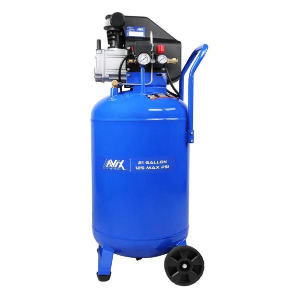 Aavix 21 Gal. Portable Electric 125 Psi Vertical Air Compressor-a12103 - Home Depot