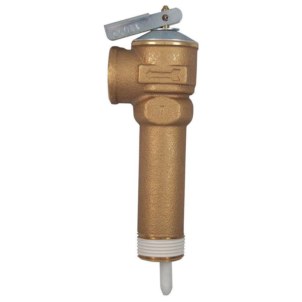 medium resolution of 3 4 in brass nclx a temperature and pressure relief valve