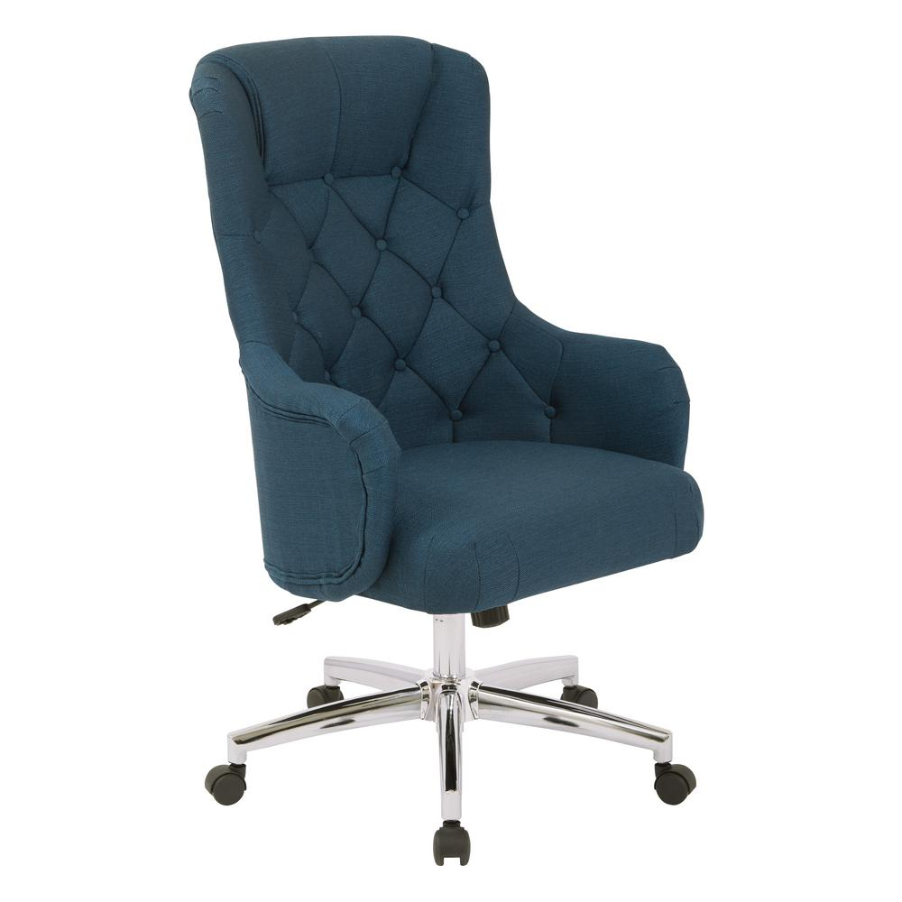 grey material office chair desk with arms and wheels ave six ariel azure sb522sa k14 the home depot