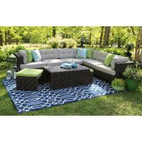 AE Outdoor Canyon 7-Piece All-Weather Wicker Patio ...