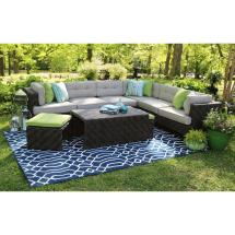 Ae Outdoor Canyon 7-piece -weather Wicker Patio