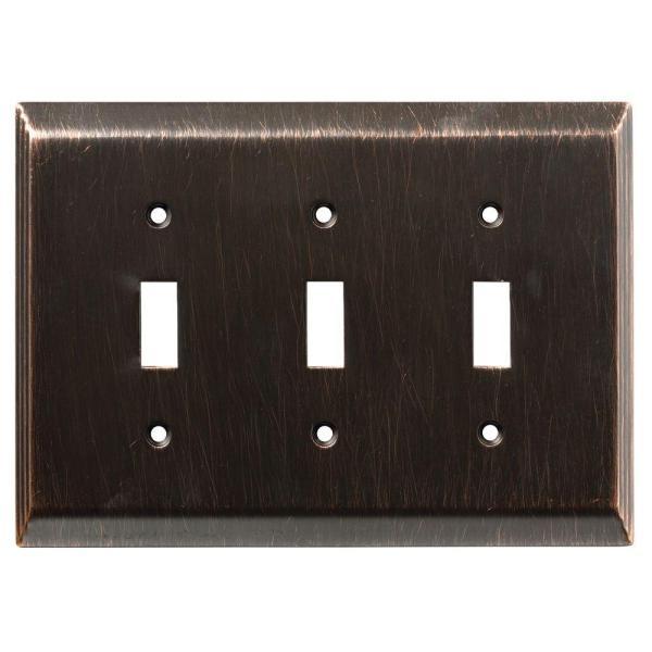 Liberty Stately Decorative Triple Switch Plate Venetian