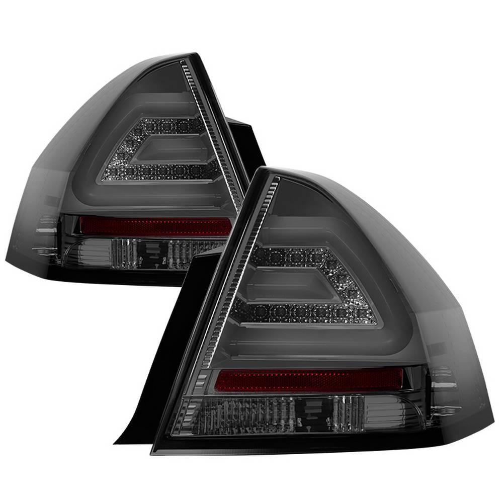 hight resolution of chevy impala 06 13 impala limiited 14 16 led tail lights smoke