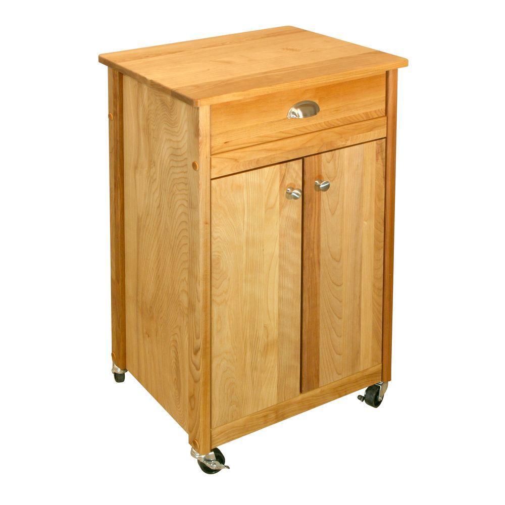 catskill craftsmen kitchen island tables with chairs promo birch natural cart storage