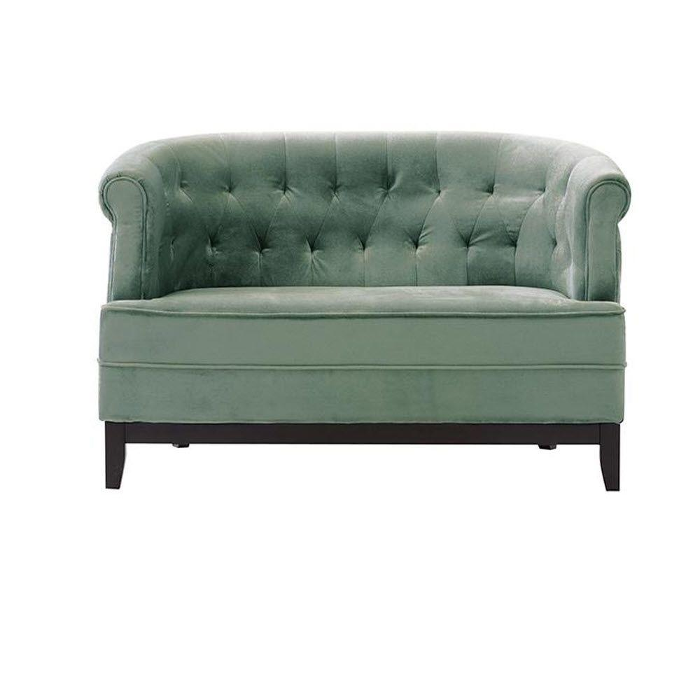 emma tufted sofa antique sleeper home decorators collection textured natural chenille loveseat 0280700950 the depot