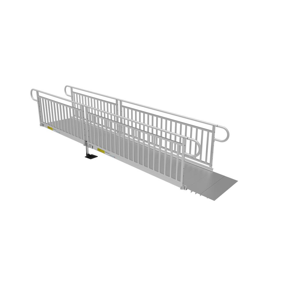 EZ-ACCESS PATHWAY 3G 14 ft. Ramp Kit with Solid Surface