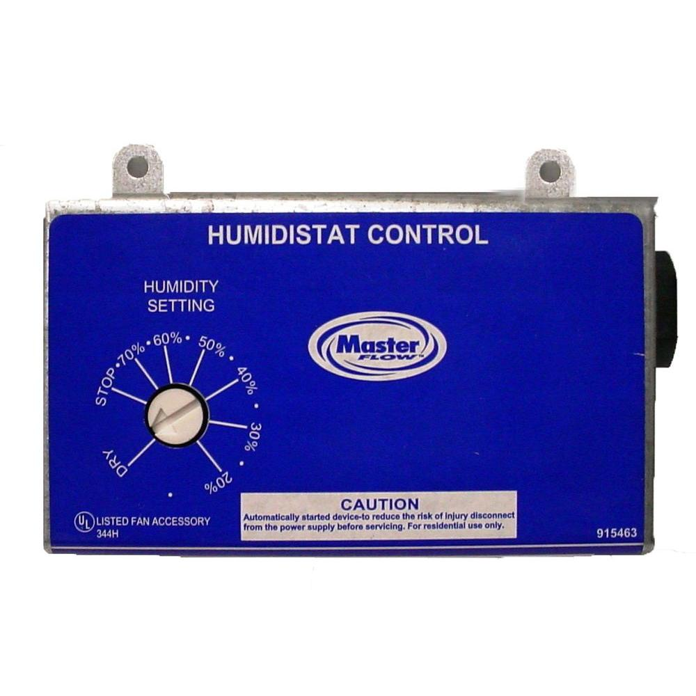 medium resolution of master flow manually adjustable humidistat for power vents h1 the master flow h1 humidistat wiring diagram