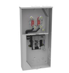 milbank 200 amp 4 terminal ringless main breaker 8 space 16 circuit milbank 320 amp meter socket wiring diagram milbank meter base wiring diagram [ 1000 x 1000 Pixel ]