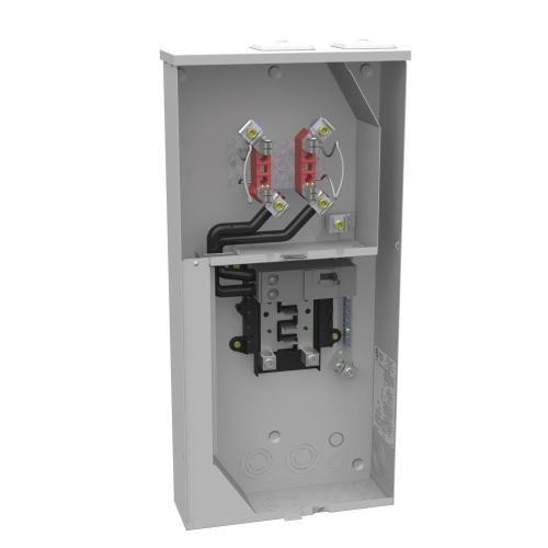 small resolution of milbank 200 amp 4 terminal ringless main breaker 8 space 16 circuit milbank 320 amp meter socket wiring diagram milbank meter base wiring diagram