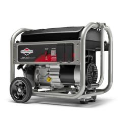 briggs stratton 3 500 watt gasoline powered manual start portable generator with briggs and stratton [ 1000 x 1000 Pixel ]