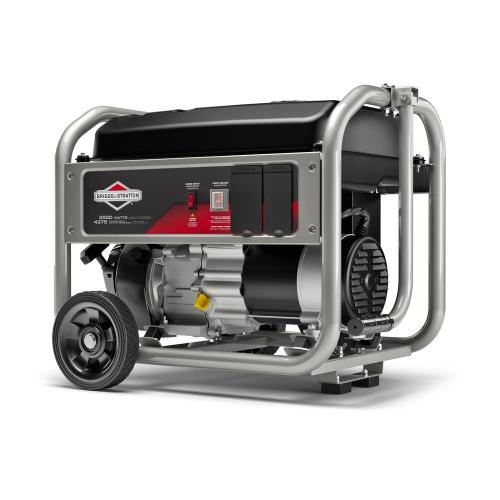 small resolution of briggs stratton 3 500 watt gasoline powered manual start portable generator with briggs and stratton