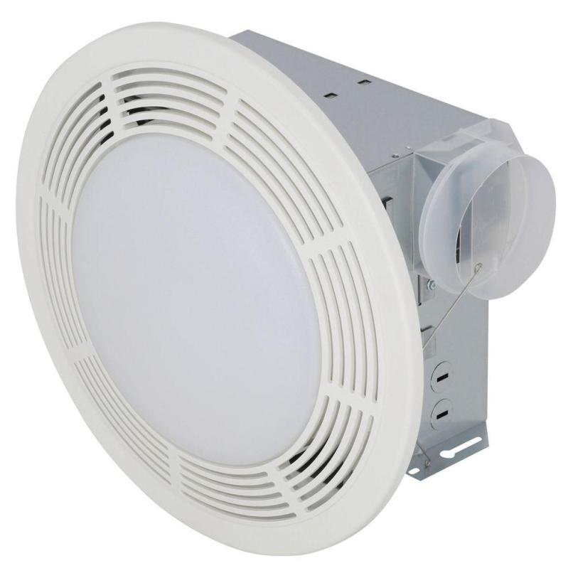Broan Nutone 751 Round Bathroom Exhaust Fan With Light