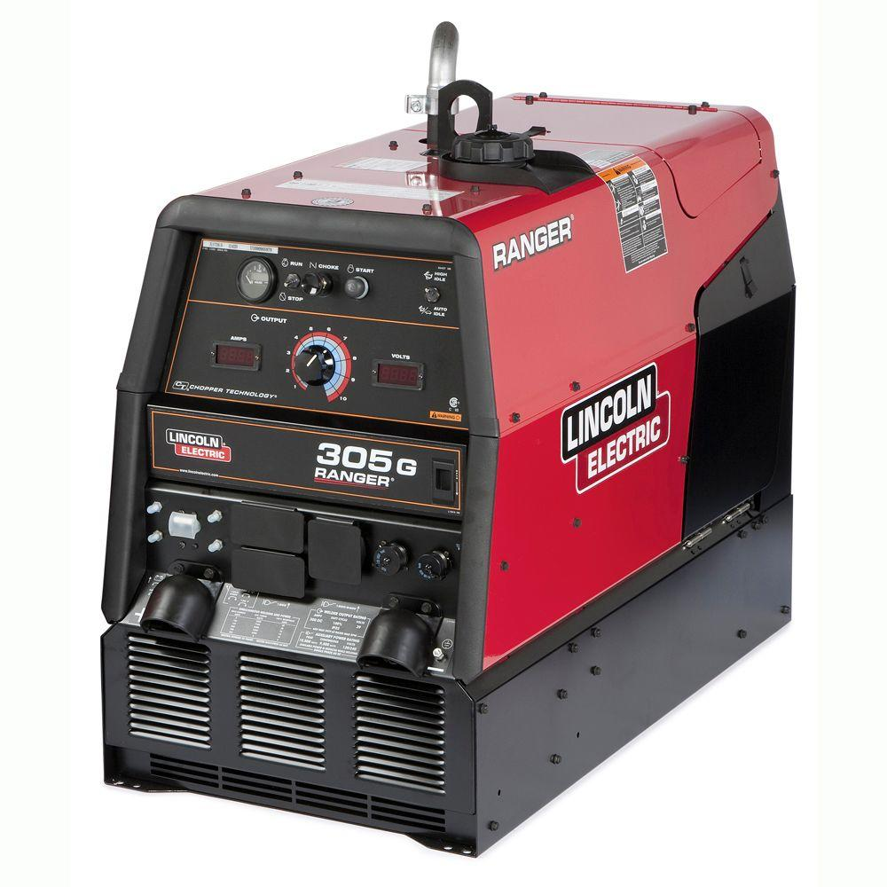 hight resolution of lincoln electric 300 amp ranger 305 g gas engine driven multi process dc welder