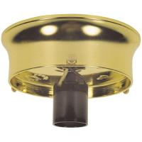 Westinghouse 3-1/4 in. Brass Finish Glass Shade Holder Kit ...