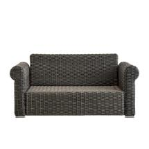 Outdoor Wicker Furniture Rolled Arm Sectional